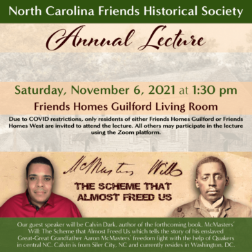 2021 Annual Lecture